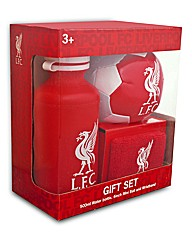 Liverpool Ball, Bottle and Wrist Band