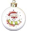 Personalised Santa Christmas Bauble