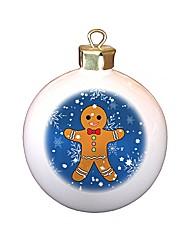 Personalised Gingerbread Man Bauble