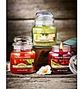 Yankee Set Of 3 Small Jar Candles