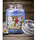 Yankee Garden Sweet Pea Large Jar Candle