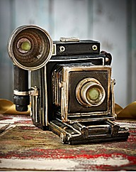 Golden Days Camera Moneybox