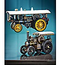 Oxford Die Cast Burrell Steam Engine Set