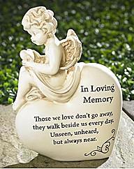 Graveside Memorial Cherubs