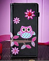 Spotty Owl Ladies Purse