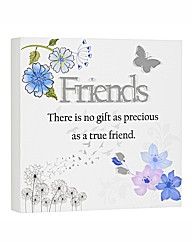 Friends Reflections Plaque