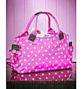 Dotty Pink Tote Bag