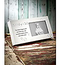 Baby Girl Reflections Frame