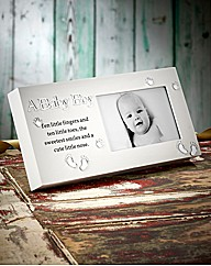 Baby Boy Reflections Frame
