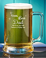 Personalised Worlds Best Tankard