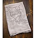 Owl Embellished Scarf