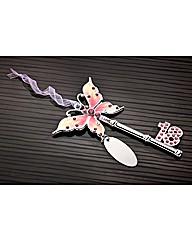 Pink Butterfly 18 Key