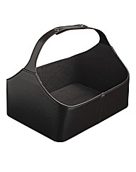 Faux Leather Caddy