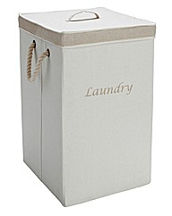 Foldable Laundry Bin with Lid