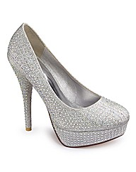 Diamante Court Shoes
