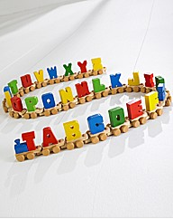 Wooden Colour Alphabet Train