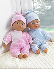 Twin Doll Pack Boy and Girl
