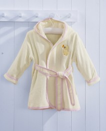 Toddler Pink Bath Robes 3-4 Years