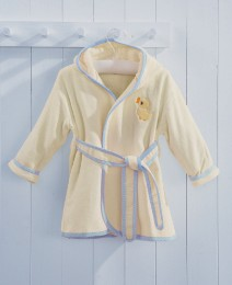 Toddler Blue Bath Robes - Age 3-4 Years
