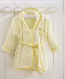 Toddler Lemon Bath Robes - Age 3-4 Years