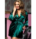 Seven Til Midnight Lucy Satin Robe
