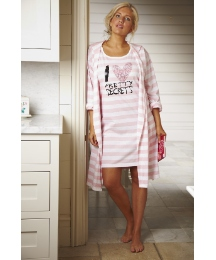 Pretty Secrets Nightdress and Wrap Set