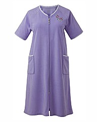 Pretty Secrets Zip Velour Gown, L42