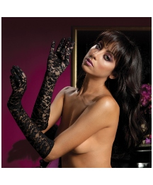 Seven Til Midnight Lace Opera Gloves