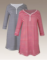 Shapely Figures Pack 2 L/S Nightdresses