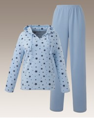 Shapely Figures Fleece Pyjama Set