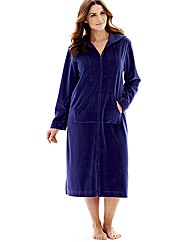 Pretty Secrets Velour Zip Gown L44