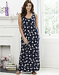 Pretty Secrets Butterfly Maxi Chemise