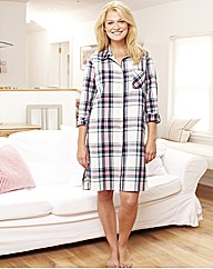 Pretty Secrets Check Nightshirt L36