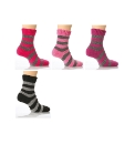 Pack of 3 Angora Cushion foot Socks