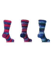 Pack of 3 Luxury Feather True Socks