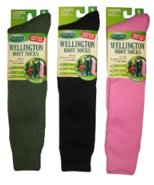 PacK of 3 Wellington Boot Socks