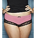 Naturally Close Lace Brazillian Briefs