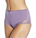 Naturally Close Pack of 4 Full Fit Brief