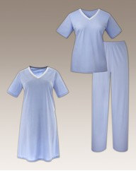 Shapely Figures 3Piece Nightwear Set L38