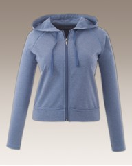 Pretty Secrets Crop Zip Jacket