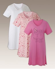 Shapely Figures Pack of 3 Nightdress L38
