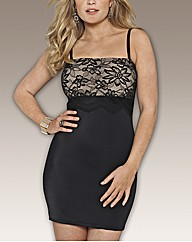 Splendour Slimming Lace Full Slip L34