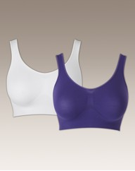 Super Sculpt Pack of 2 Comfort Bra Tops