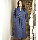 Pretty Secrets Towelling Wrap Gown L50