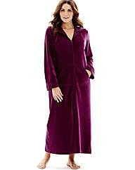 Pretty Secrets Velour Zip Gown L50