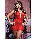 Some Like It Hot Plunging V-neck Chemise