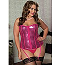 Sparkle and Shine Sequin Bustier