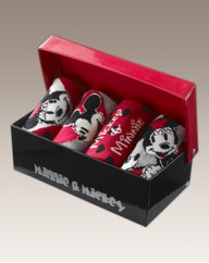 Micky and Minnie Pack of 4 Socks