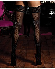 Seven Til Midnight Sheer Tights