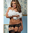 Seven Til Midnight Lace Garter Belt